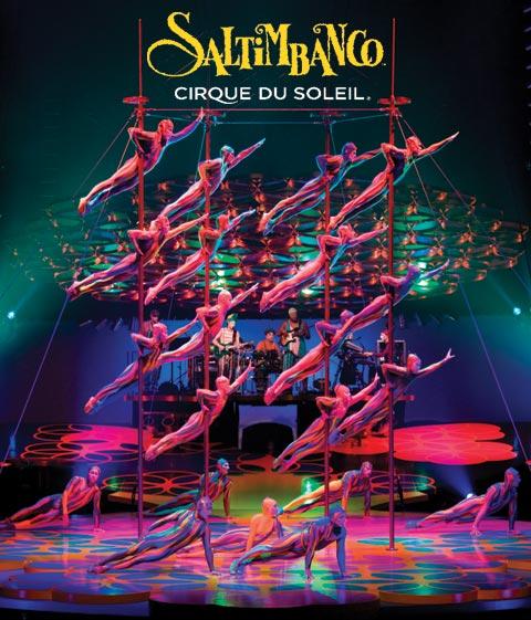 Cirque du Soleil-Saltimbanco