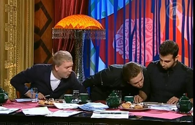 Прожекторпересхилтон, выпуск 107,эфир от 29.10.2011, гость студии Сергей Безруков