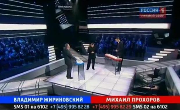 Поединок с Владимиром Соловьевым от 07.06.2012